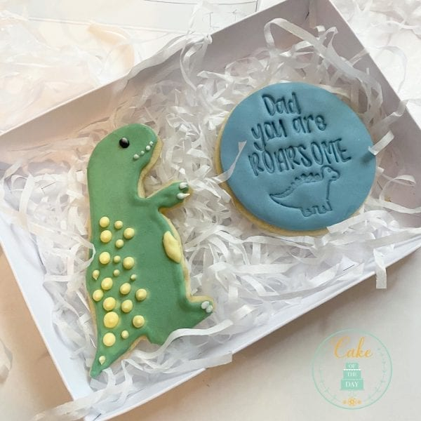 Dinosaur Biscuit set